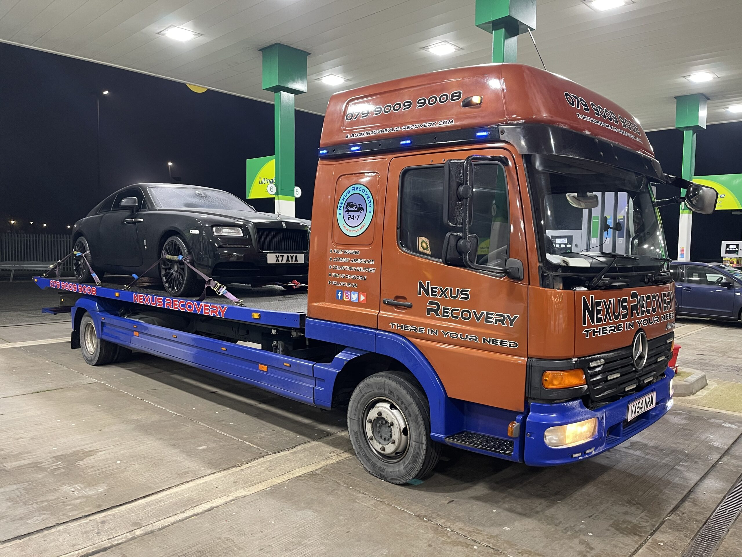HIGH END CAR RECOVERY SERVICES