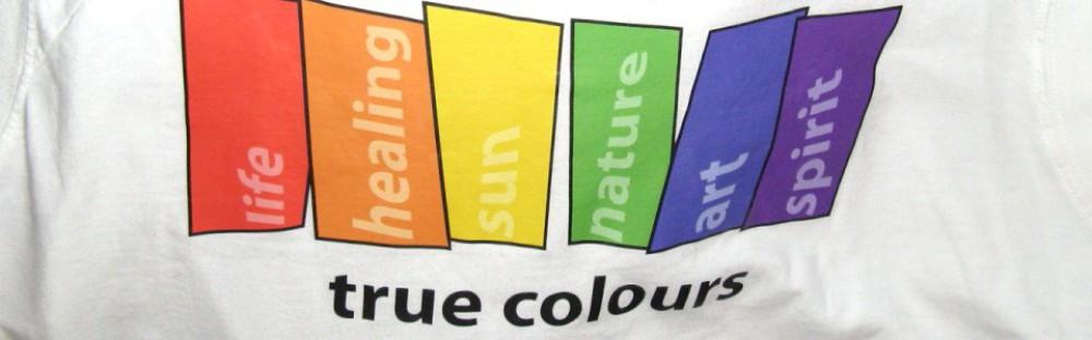 rainbow colours on white background celebrating life, healing, sun, nature, art, spirit