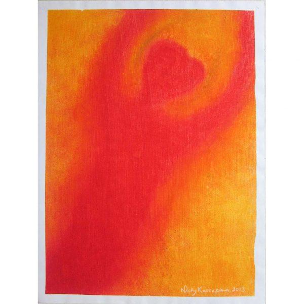 Heart-Man Painting