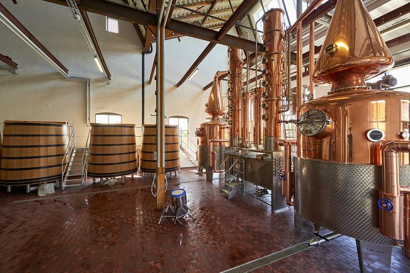 Mange af vores kunder er destillerier.