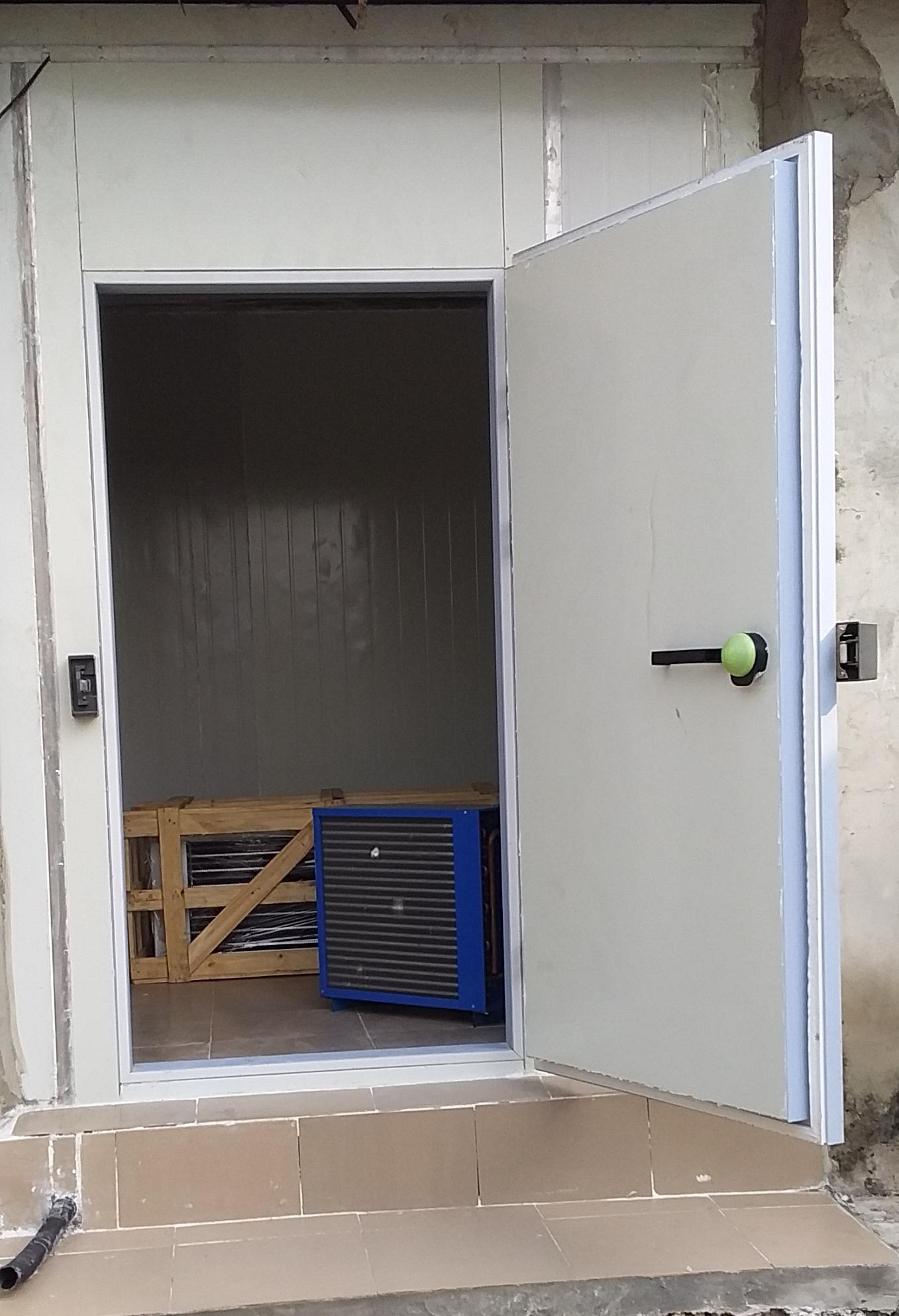 Cold room construction in Nigeria