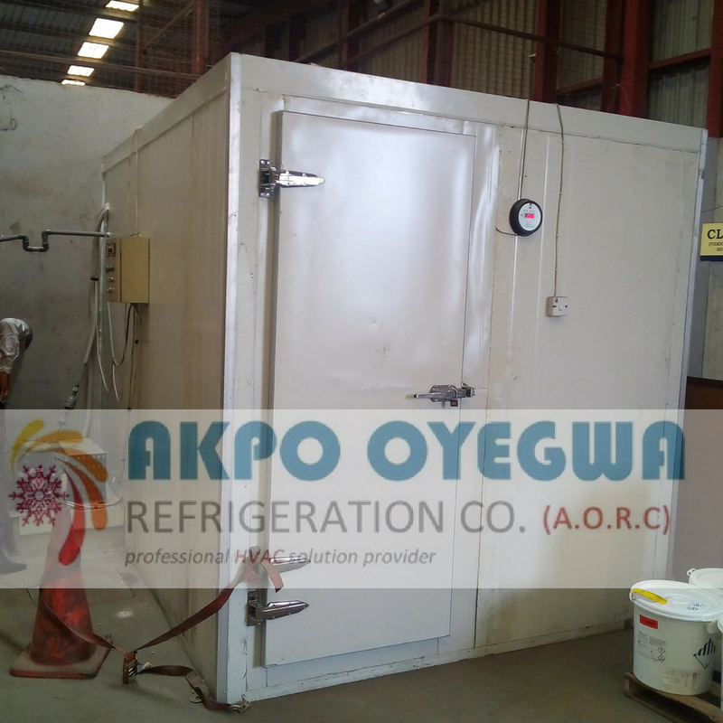 Cold Room prices in Nigeria. Akpo Oyegwa Refrigeration Co. Cold Room Installed..
