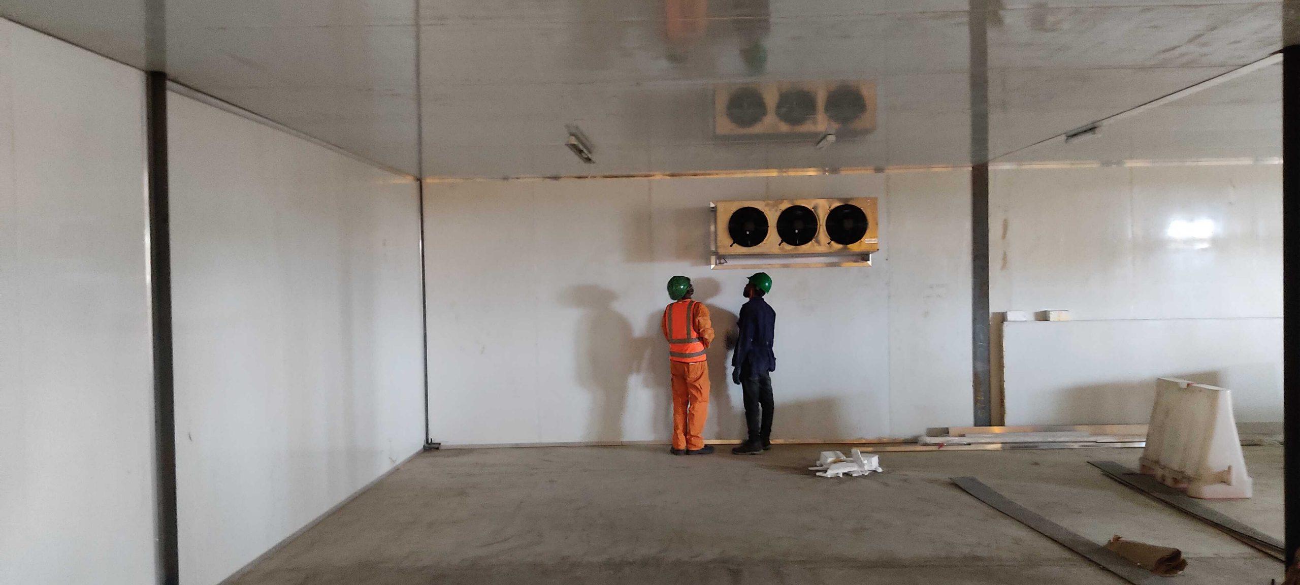 Cold room fabrication in Nigeria.. AKPO OYEGWA REFRIGERATION COMPANY.