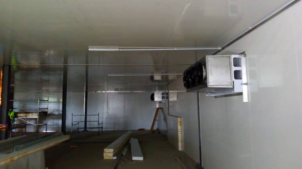 Cold room in Lagos. akpo oyegwa refrigeration company