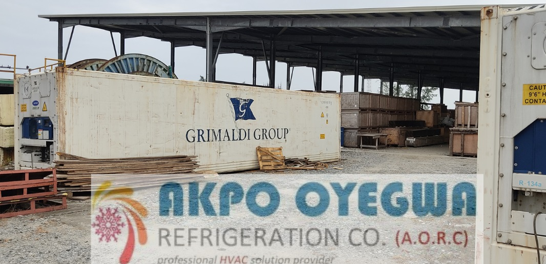 40 feet Reefer Container price in Nigeria by Akpo Oyegwa Refrigeration Company