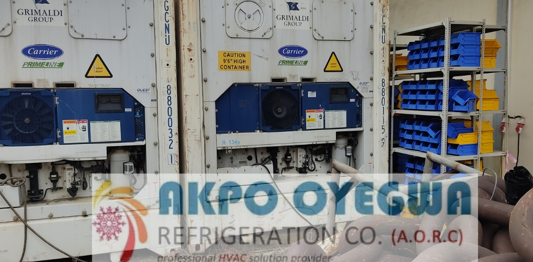 40 feet Refrigerated Containers price in Nigeria by Akpo Oyegwa Refrigeration Company