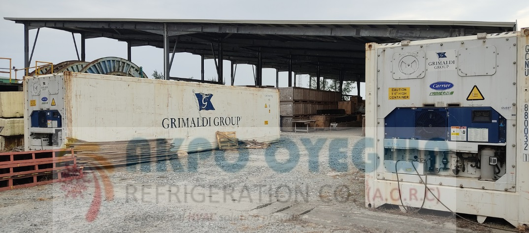 Refrigerated Containers Reefer Container for Sale by Akpo Oyegwa Refrigeration Company