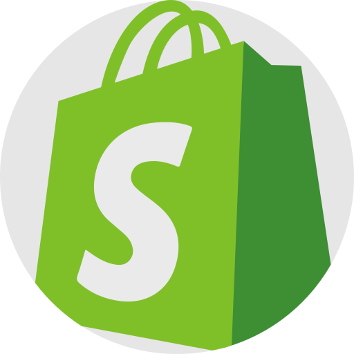 shopify web development icon