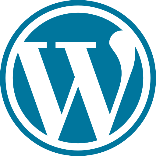 word press web development icon