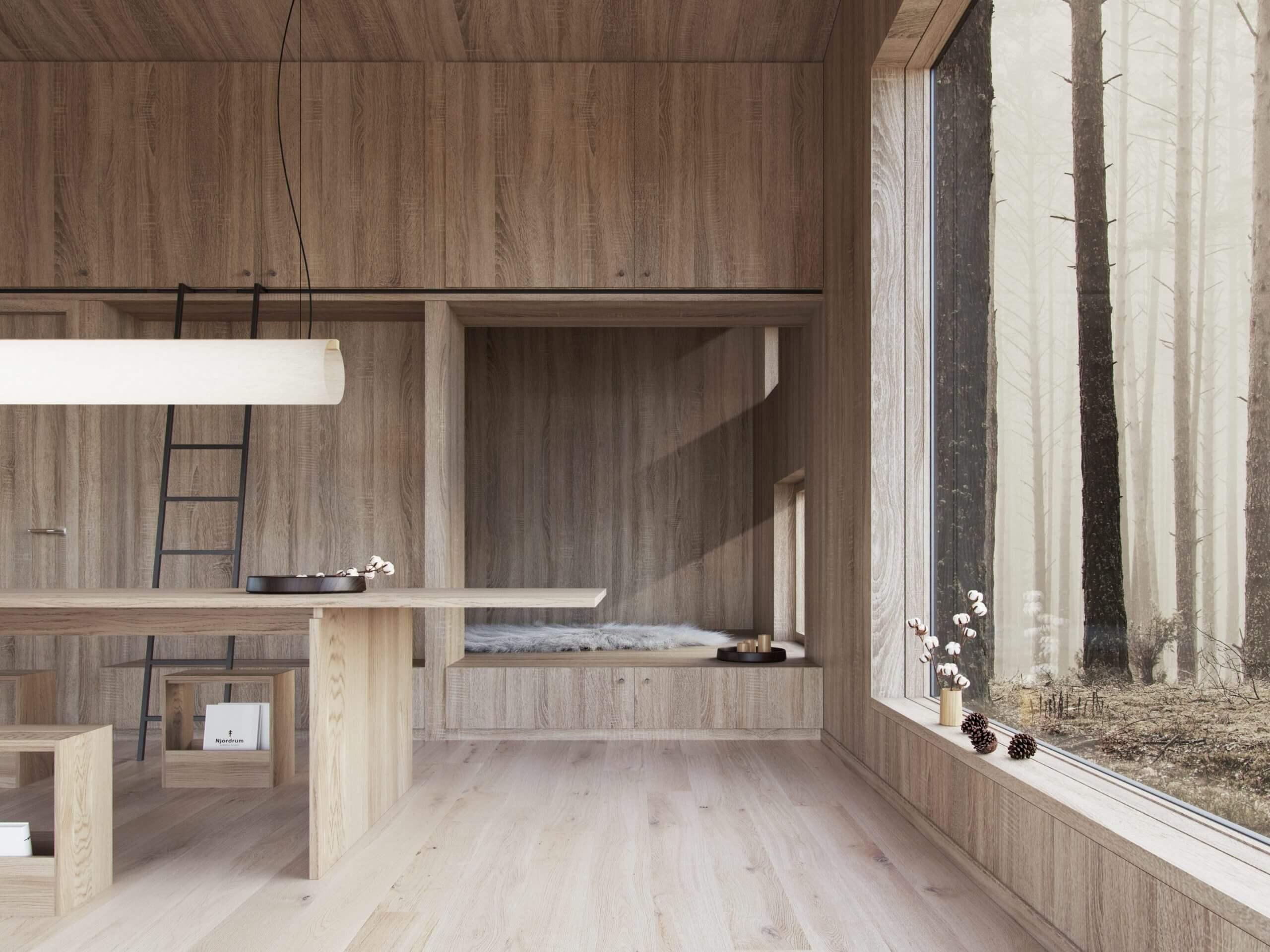Njordrum, integreret design