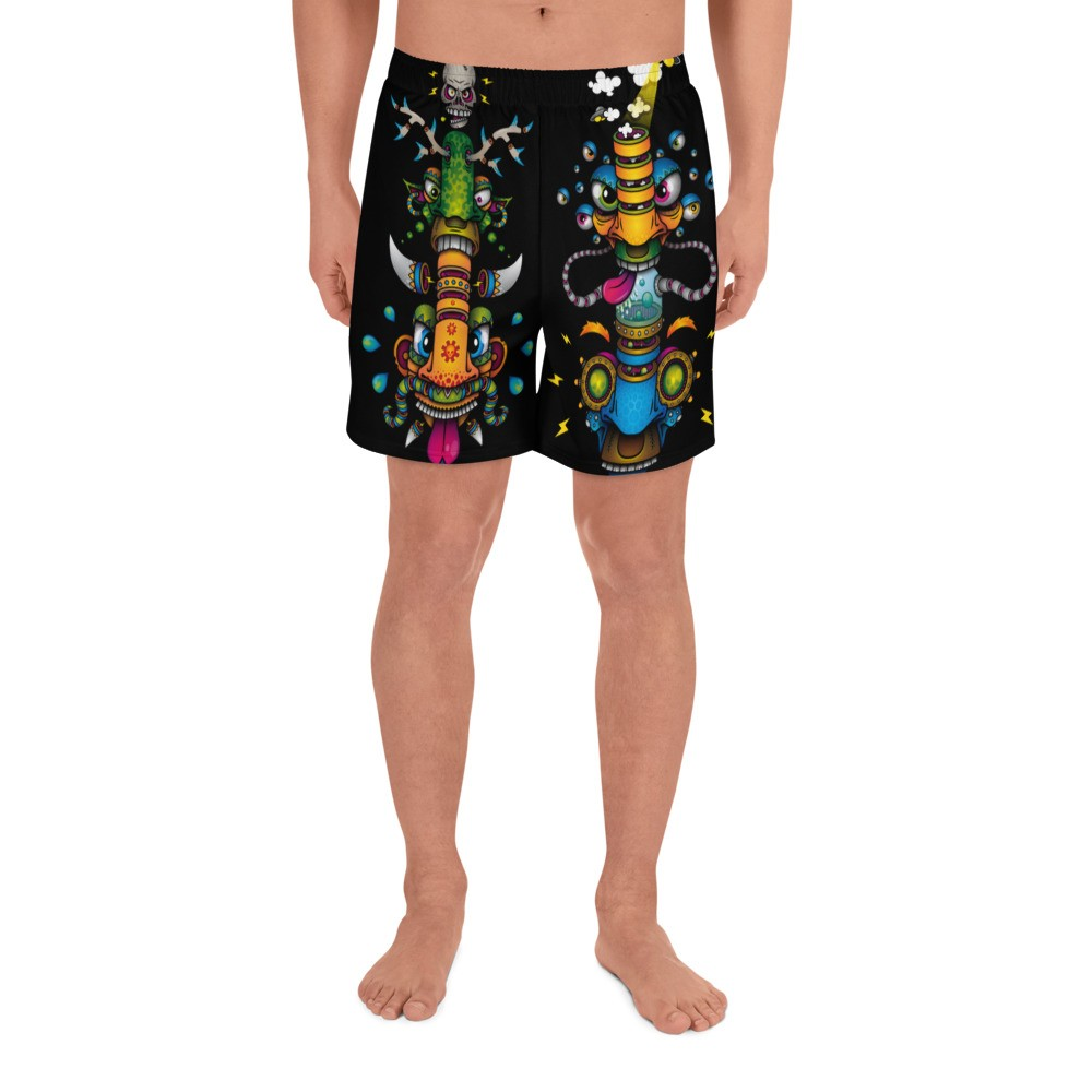 Psychedelic Shorts dual Design