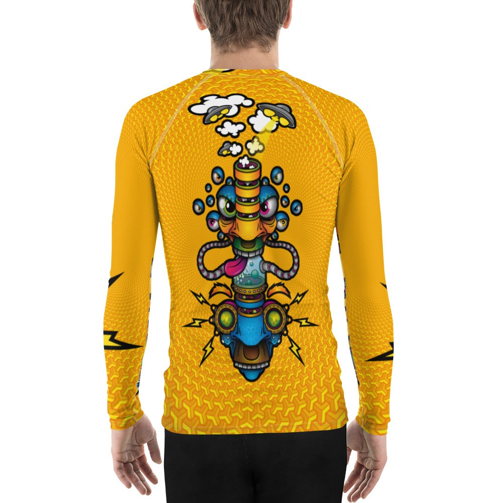 Psychedelic Long Sleeve Space Bang Head