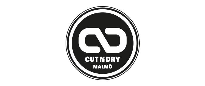 Frisör Cut n Dry Logotyp