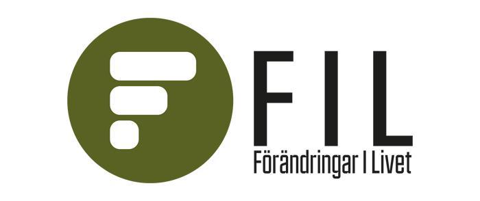 FIL förändringar i livet Logotype