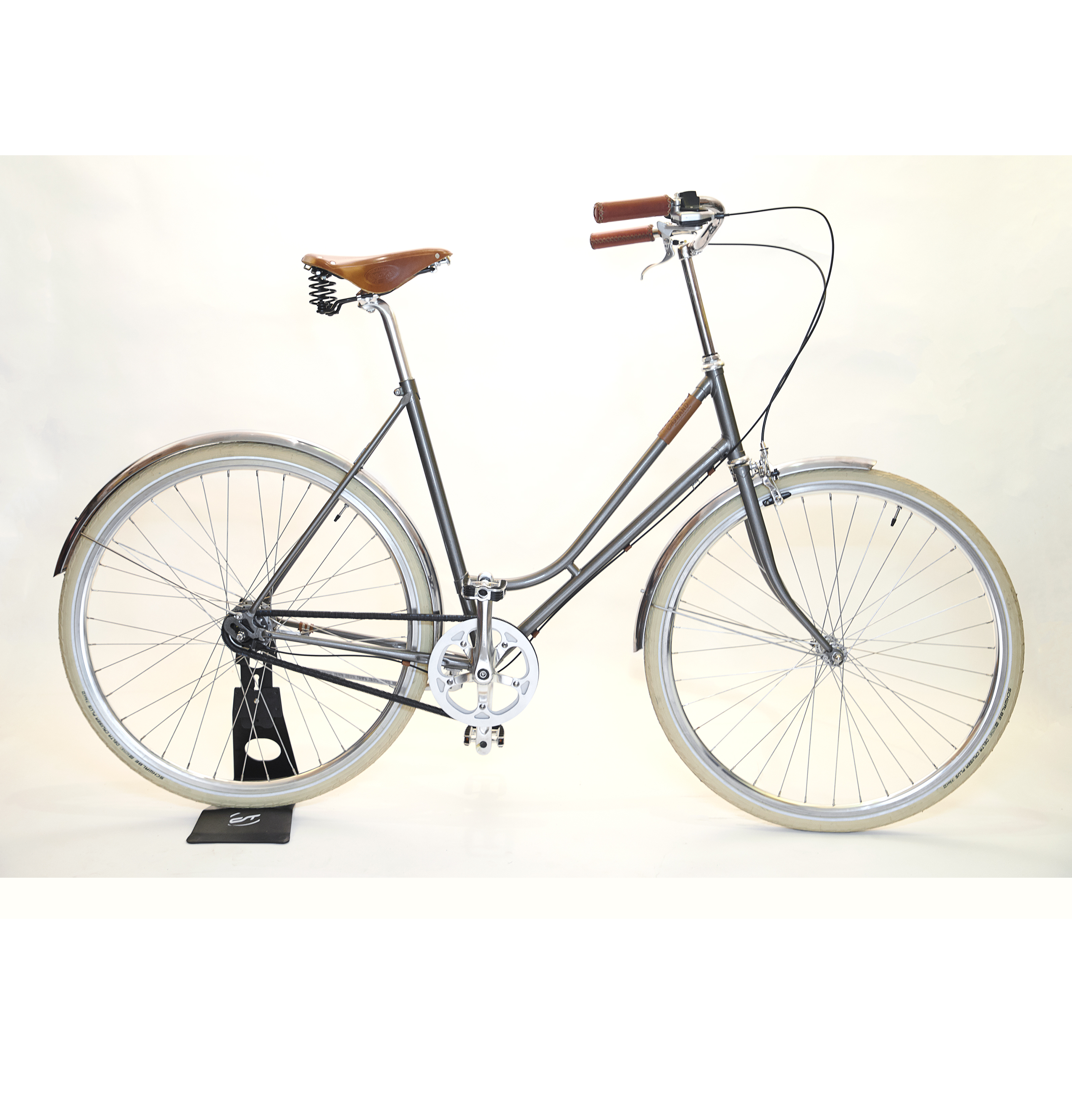 Nologo Grand bike Sølv dame