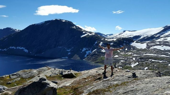 dalsnibba norge