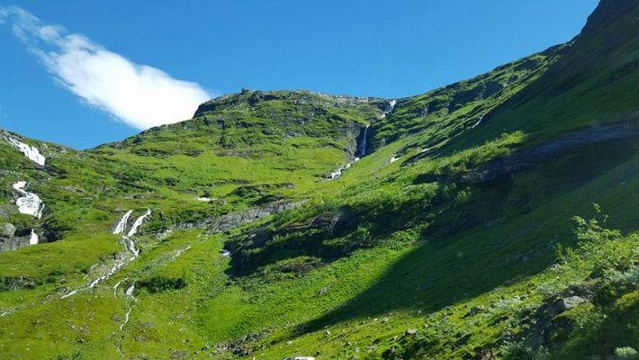 vandra i bergen i norge