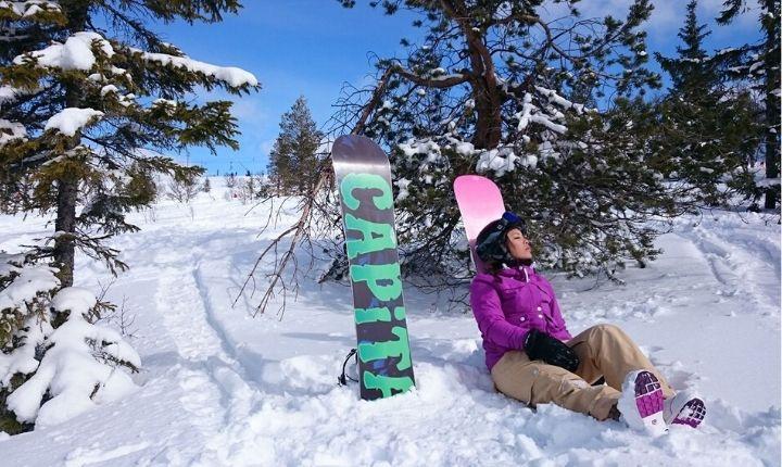 mat när man åker skidor