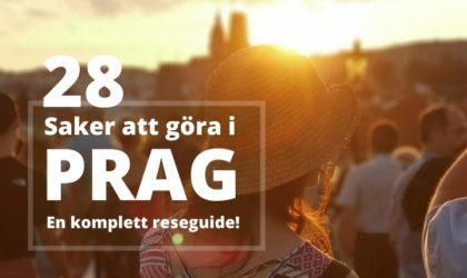 Att göra i Prag – 28 tips för en weekend i Tjeckien