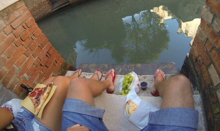 picknick i Venedig