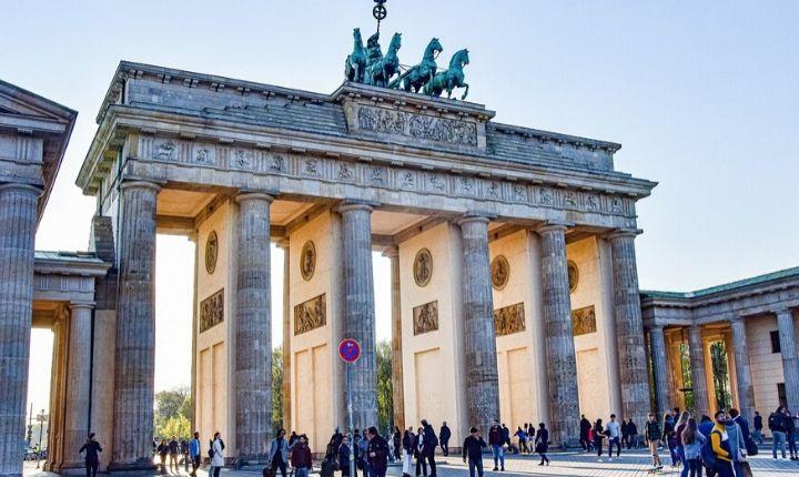 att göra i Berlin brandenburger tor