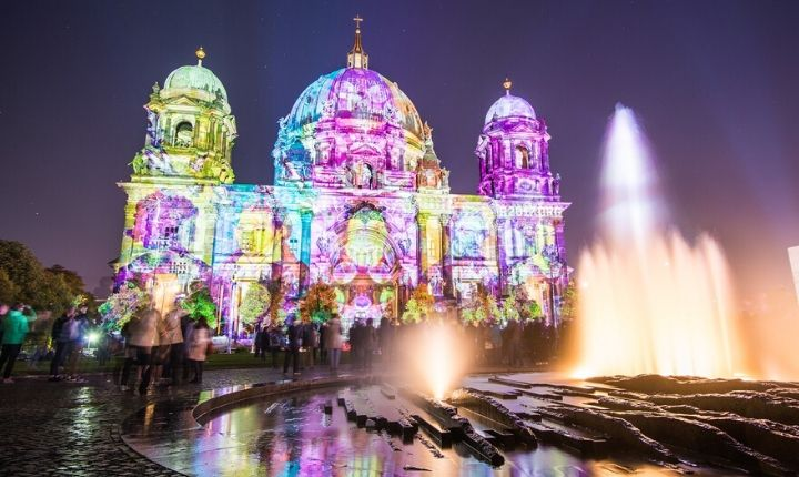 the Berlin Festival of Lights