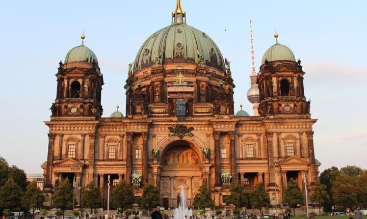 Berlins domkyrka berliner dom