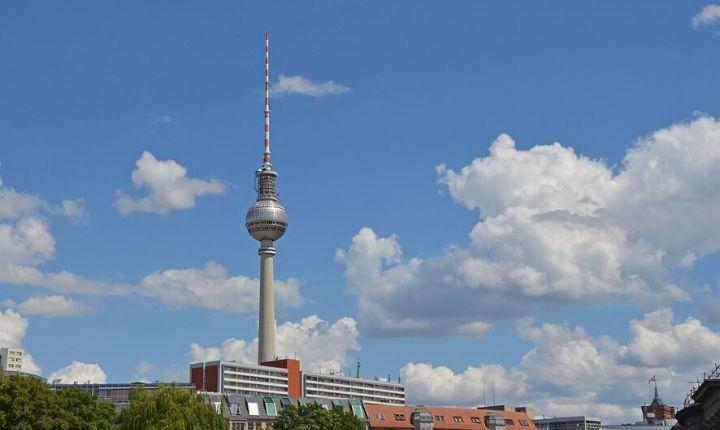 tv tornet i Berlin