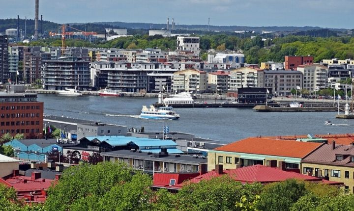 Göteborg Sveriges näst största stad