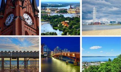 Sveriges 18 största städer 2020 & fakta du måste veta!