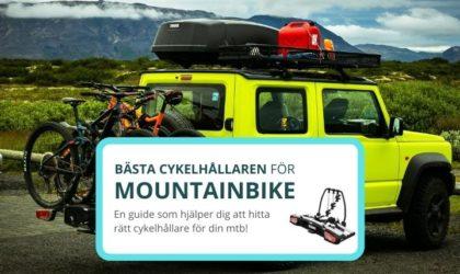 Bästa cykelhållaren för mtb – 4 bra cykelhållare för tak & dragkrok