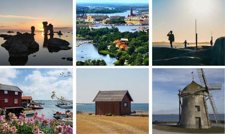 sveriges största öar