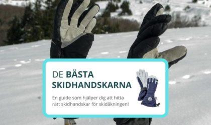 Bästa skidhandskarna – 6 bra & varma handskar för skidåkning