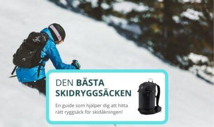 Bästa skidryggsäcken – 3 bra ryggsäckar för skidåkning
