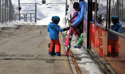 10 skidorter med tågförbindelse & tågstation i Sverige
