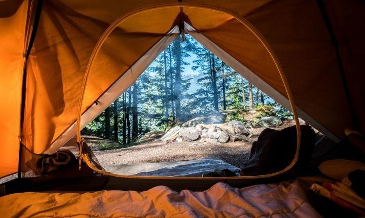 liggunderlag camping