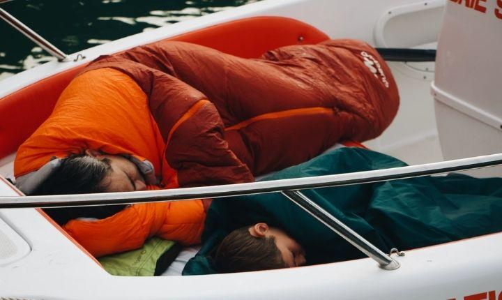 sovsäck för barn