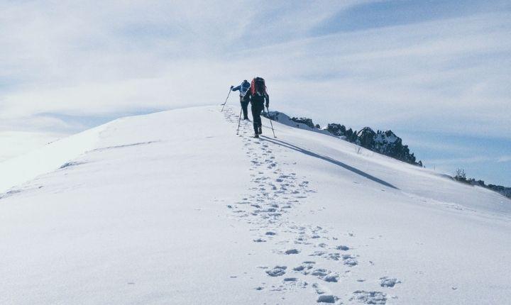 vandringsjacka vinter