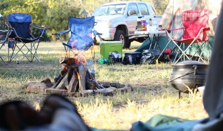 oskrivna regler camping