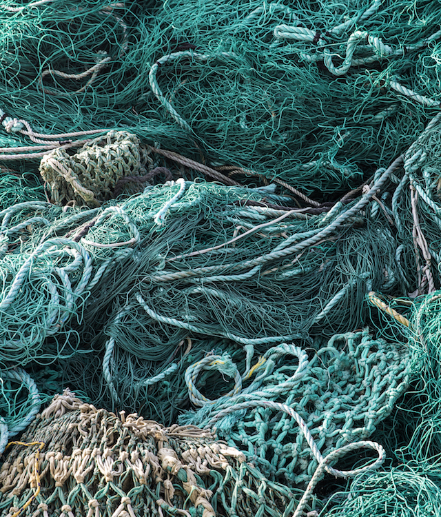 recycled fishing nets