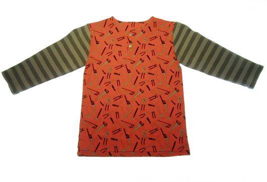 Orange-bluse-vaerktoej