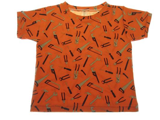 Oranget-shirt-værktøj