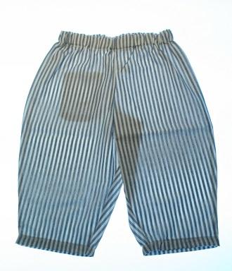 Økologisk bukser canvas blå.