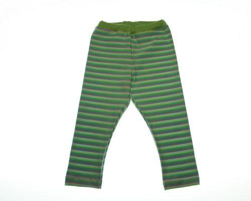 Økologisk multistribet leggings.