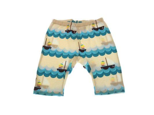 Økologisk shorts sejler.