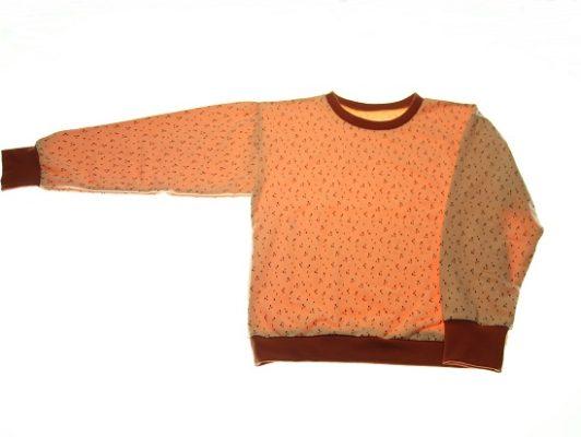 Oekologisk-sweatshirt-melon-134-140