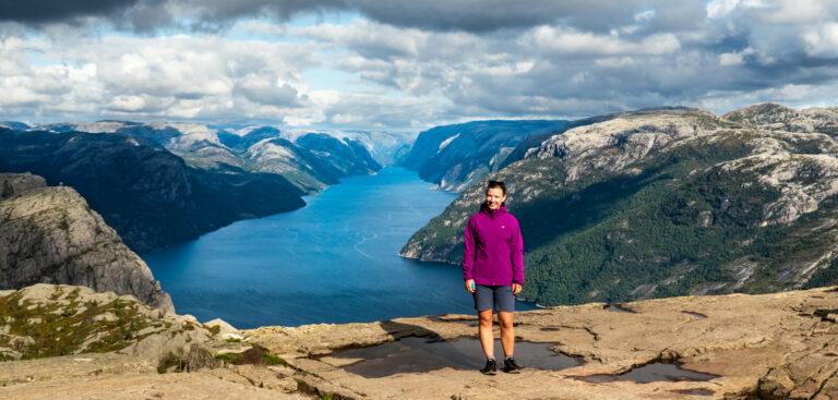 Pulpit Rock - Kayak Trip Norway