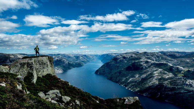 The view - Kayak Trip Norway