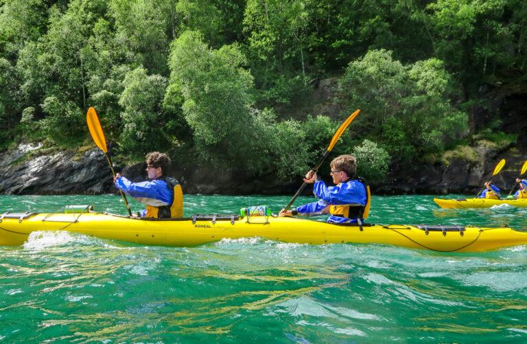 2x Kayak  - Kayak Trip Norway