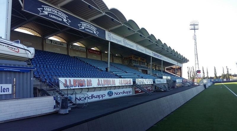 Sarpsborg Stadion hovedtribune